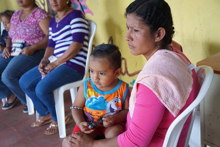 Madre e hija en Nicaragua